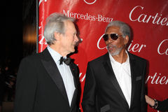 Morgan Freeman,Clint Eastwood Stock Images
