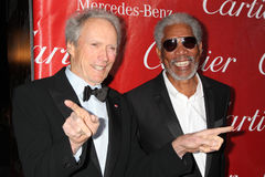 Morgan Freeman,Clint Eastwood Royalty Free Stock Photos