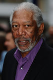 Morgan Freeman, die Dunkelheit lizenzfreies stockfoto