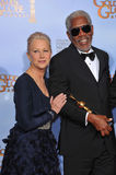 Morgan Freeman, Helen Mirren Royalty Free Stock Image