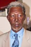 Morgan Freeman  - wax statue Royalty Free Stock Photography