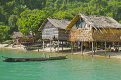 Morgan Hut, ilhas parque nacional de Surin, Tailândia Foto de Stock Royalty Free