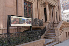 Morgan Library & Museum. The Morgan Library & Museum, in New York City, which was founded in 1906 to house the private library of American financier J. P. Morgan stock photo