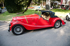 Morgan más 8 en desfile del coche de la vendimia Foto de archivo libre de regalías