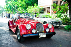 Morgan más 8 en desfile del coche de la vendimia Imagen de archivo libre de regalías