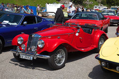 Morgan MG Plus Four Royalty Free Stock Images