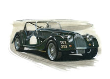 Morgan Plus 4 Supersport Royalty Free Stock Image