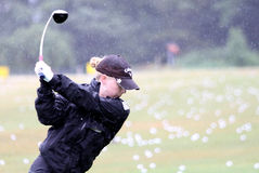 Morgan Pressel at Evian Masters 2010