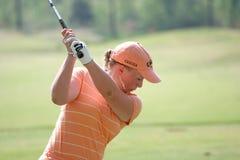 Morgan Pressel, giro di golf di LPGA, Stockbridge, 2006 Fotografie Stock Libere da Diritti