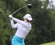 Morgan Pressel (USA) Evian Masters 2011 Royalty Free Stock Images