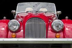 Morgan Roadster op Zwarte stock foto's
