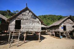Morgan Sea Gypsy huts near Koh Surin Stock Image