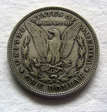 Morgan Silver Dollar Stock Images