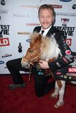 Morgan Spurlock royaltyfria bilder