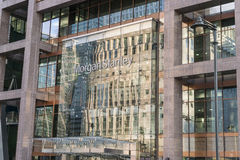Morgan Stanley Building at Canary Wharf - London England  UK Royalty Free Stock Photography