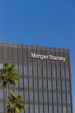 Morgan Stanley Building et logo Photos libres de droits