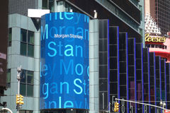 Morgan Stanley Headquarters. The headquarters of Morgan Stanley, a financial services corporation, in Midtown Manhattan Stock Images