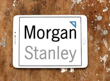 Morgan Stanley logo Zdjęcia Royalty Free