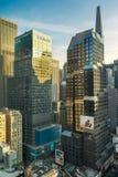 Morgan Stanley New York huvudkontor Arkivfoto