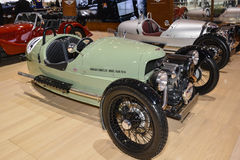 Morgan Three Wheeler al salone dell'automobile di Ginevra fotografie stock