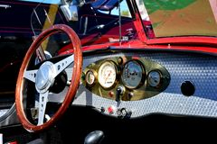 Morgan Three-Wheeler Dashboard Royalty Free Stock Photography