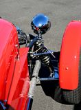 Morgan Three-Wheeler Right Wheel Royalty Free Stock Images