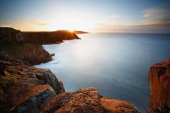 Morgan zatoki wschód słońca Fotografia Stock