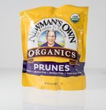 Illustrative editorial photo of Newmans Own Prunes Royalty Free Stock Images