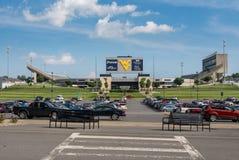 Milan Puskar Stadium in Morgantown, WV Stock Images