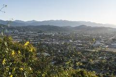 Morgen-Ansicht Glendales Kalifornien lizenzfreie stockfotos