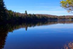 Morgen auf Chubb-Teich Lizenzfreie Stockfotos