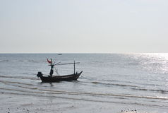 Morgen auf dem Meer Lizenzfreie Stockbilder