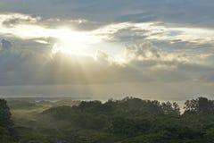 Morgen auf der Küste lizenzfreie stockfotos