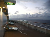 Morgen auf Karibischen Meeren Lizenzfreies Stockbild