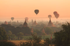 Morgen Bagan Stockbilder