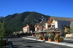 Morgen in Banff lizenzfreies stockfoto