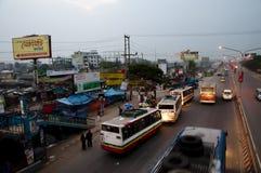 Morgen - Bangladesch stockbilder