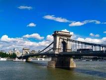 Morgen in Budapest stockfoto