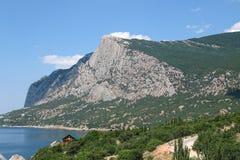 Morgen in der Bucht von Laspi, Krim Lizenzfreies Stockbild