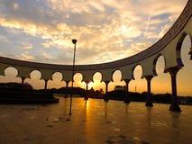 Morgen in der Moschee Stockfoto