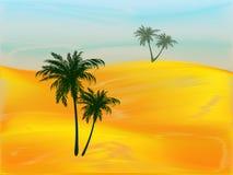 Morgen in der Wüste Stockbild