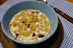 Morgen ein gesundes Frühstück Stockfotos