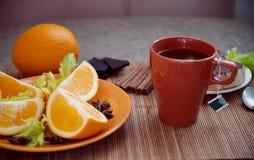 Morgen ein gesundes Frühstück Stockfotografie