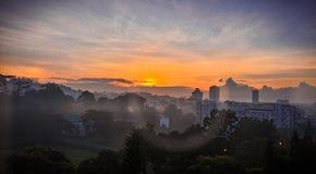 Morgen-Farbe Stockfotos