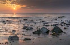 Morgen-Felsen Stockbild