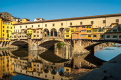 Morgen in Florenz Stockfoto