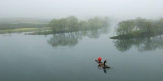 Morgen-Fluss Lizenzfreie Stockfotos