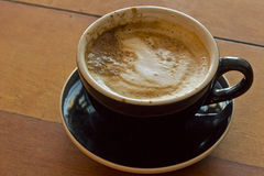 Morgen heißer Latte Lizenzfreie Stockbilder