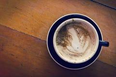 Morgen heißer Latte Lizenzfreies Stockbild