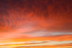 Morgen-Himmel Lizenzfreies Stockbild